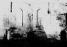 Interieur kerkgebouw in 1944